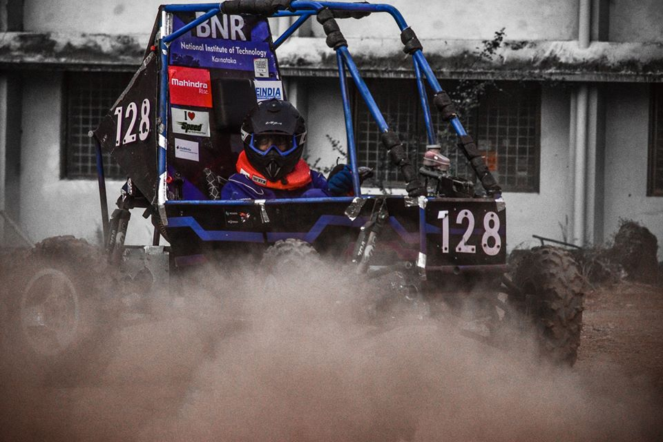 From Virtual Baja to Baja SAE India : A Riveting Year for Team BNR