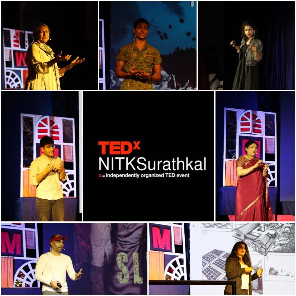 12 Individuals. 12 Stories; TEDxNITKSurathkal 2020