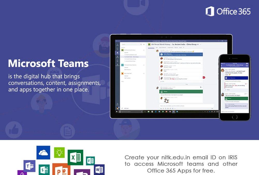 Creation of Microsoft EDU Account