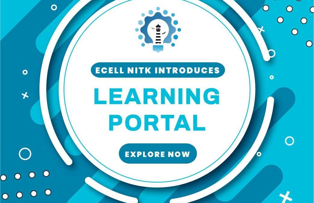 E-Cell NITK: Learning Portal