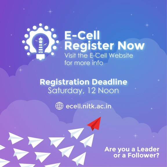 E-Cell is Recruiting