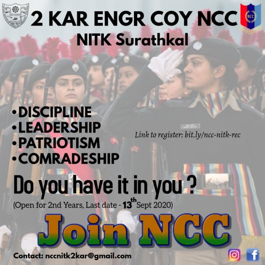 Join the NCC force: Registrations open